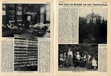 Graf Hans von Berlepsch und seine Vogelsammlung (mit) histor.Aufnahmen von  1912