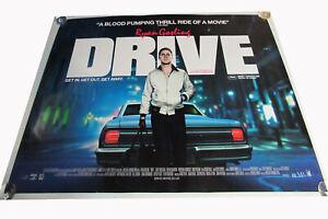 Drive movie UK quad poster ORIGINAL D/S full size Ryan Gosling near perfect