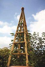 Smart Garden Obélisque en Pin pour Jardin 1 9 M