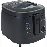 Brentwood Df-725 2.5 Liter Deep Fryer In Black - 2.64 Quart Oil / 6.26 Lb Food -