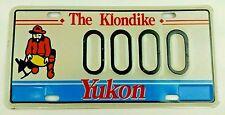 1997 Yukon Gold Panner Sample License Plate The Klondike
