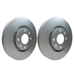 Front Brake Discs 283mm 50365PRO fits Peugeot 207 WA_, WC_ 1.6 16V Turbo