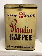 Alte Blechdose STAUDIA Kaffee Kaffeedose