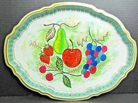 BARET WARE Tray Art Grace 62/1 Oval METAL