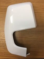 Ford Transit Custom 2012> Onwards New O/S Right Frozen White Wing Mirror Cover