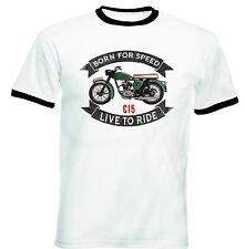 BSA C15-nuova maglietta cotone-TUTTE LE TAGLIE IN STOCK
