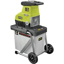 Ryobi™ 2400W Heavy Duty Crushing Electric Shredder Garden Mulcher Wood Chipper