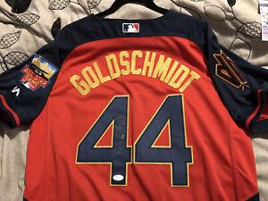 PAUL GOLDSCHMIDT 2014 MLB NL All-Star Game Auto Majestic Jersey, JSA COA