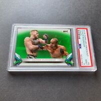 Conor McGregor 2018 Topps UFC Knockout Irish Green /199 #6 RARE Card PSA 9 Mint