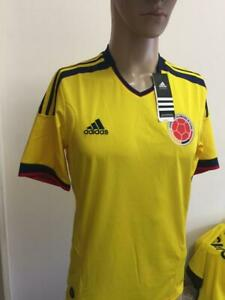 SELECCION COLOMBIA NATIONAL TEAM V09665 2013 HOME FIFA QUALIFIER JERSEY SMALL