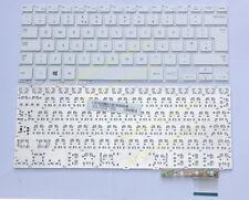 For Samsung 915S3G NP915S3G 915S3G-K02 NP915S3G-K02CN series Keyboard white UK