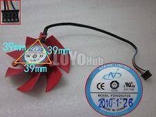 New For XFX HD 5850 5870 graphics card fan NTK FD8025U12S DC12V 0.48A 4-Pin