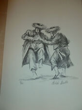 Hasidic Dancers -Melchi Hundler -Limited Edition Hand Signed and Numbered