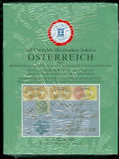 OSTERREICH AUCTION CATALOG - NEW IN PLASTIC
