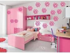 20 DAISY FLOWER Girls Room Wall Stickers Decals Nursery