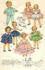 """Vintage Doll Clothes Pattern 3217 for 15"""" Shirley Temple Judy Garland by Ideal"""