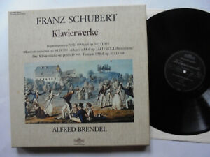 3-LP-Box -  Franz SCHUBERT  -  Klavierwerke  -  ALFRED BRENDEL