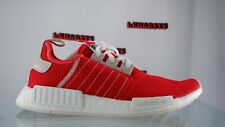 NEW Adidas NMD R1 Boost Running Shoes Active Red Ecru Tint Men Size 9 BD7897