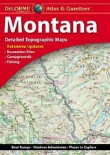 Montana Atlas and Gazetteer (2017, Trade Paperback)