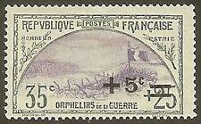"""FRANCE STAMP TIMBRE N° 166 """" ORPHELINS DE LA GUERRE +5c S 35+25c """" NEUF x TB"""