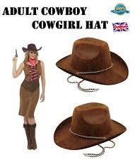 USA Stile Adulto Cappello da Cowboy Cowgirl Cappello RANGER Wild West Cappello Western Costume