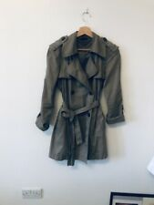 Beautiful Coat/trench Size10. Benetton Brand/Italian Brand!!