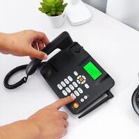 Wireless Desk Phone Landline Terminal GSM SIM Card Mobile Desktop Telephone