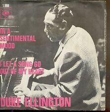 7inch DUKE ELLINGTON in a sentimental mood HOLLAND +PS  1966 EX
