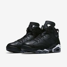 Brand New Mens Air Jordan 6 Retro 384664-020 Black Size 11 No Lid