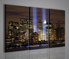QUADRO MODERNO TWIN TOWER NEW YORK QUADRI MODERNI SU TELA TORRI GEMELLE NEW YORK