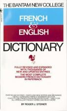 The Bantam New College French & English Dictionary: Dictionnaire Anglais Et Fran