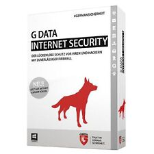 G DATA INTERNET SECURITY 2016, 1PC / 1 Jahr, ESD