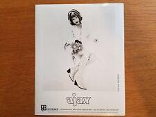 AJAX Promotional Press Photo 8x10 BLACK & WHITE Electronic Alt Indie Rock 1990's
