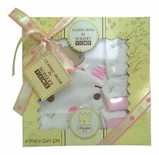 Baby Shower Gift - 4 Piece Baby Girl Clothes Set Pink Boxed 0/3 Months