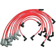 FORD RACING M-12259-R460 Spark Plug Wires Spiral Wound 9mm Red 45 Degree Boots