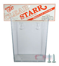 Small Clear Plastic Cap Catcher for Wall Mount Bottle Openers, Starr X New!!