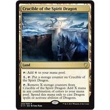 CRUCIBLE OF THE SPIRIT DRAGON NM mtg Commander 2017 Land - Rare