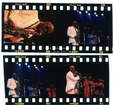 4 1989 John Handy Jazz Saxophone Earthquake Old Photo Transparency Lot 119L