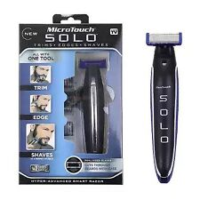Micro Touch Micro Touch SOLO Rechargeable Razor Shaver and Trimmer