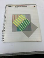 Apple II 80 Column Text Card  Manual for IIe Only - 1982