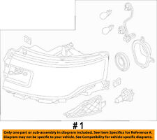 FORD OEM 13-17 Flex-Headlight Assembly DA8Z13008A