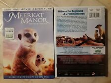 Meerkat Manor - The Story Begins (Dvd, 2008) Excellent Cond W/Slipcover/View 2X