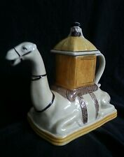 Vintage Tony Wood ceramic camel teapot