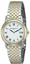 Raymond Weil Women's 5966-STP-00300 Tradition Swiss Made Two Tone Watch NEW TAGS