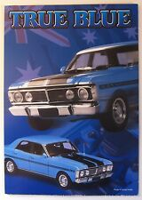 BIANTE BROCHURE TRUE BLUE XY GTHO FALCON  GT  FREE POST RARE
