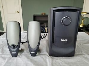DELL ZYLUX  A425 Multimedia Computer Aux Speaker System With Powered Subwoofer