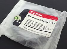 Canon Genuine Gelatin Filter Holder Adapter Ring IV, 72mm