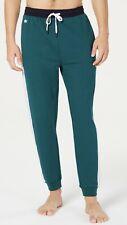 Lacoste Men's Colorblocked Logo-Stripe Jogger Pajama Pants Sz XL Color Green New