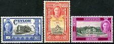 Ceylon 1947 KGVI NEW CONSTITUTION ISSUES SG402 to SG404 MNH OG Crisp