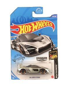 Hot Wheels 2020 HW Nightburnerz 9/10 ZAMAC 018 McLaren Senna